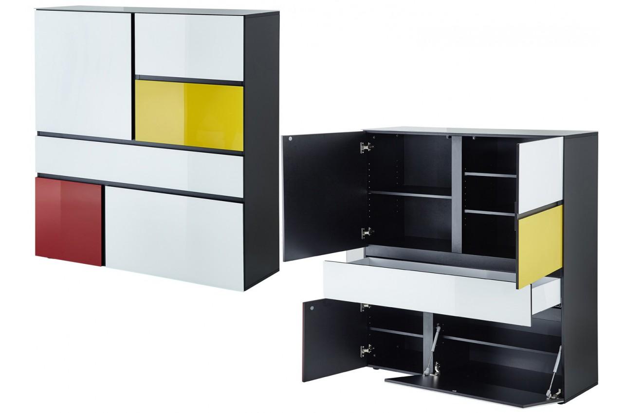 Buffet haut design thor cbc meubles for Buffet design