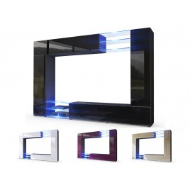 Meuble tv design meuble tv mural cbc meubles - Meuble living tv design ...