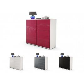 Commode moderne 1 porte 5 tiroirs BABOU