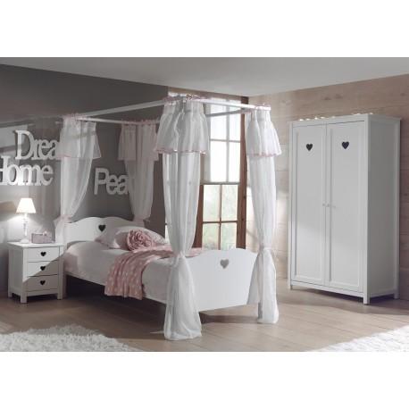 chambre enfant fille sarah cbc meubles. Black Bedroom Furniture Sets. Home Design Ideas