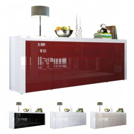 Buffet/Bahut 200 cm - 4 portes - 2 tiroirs TOPAZE
