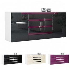 Buffet 2 portes & 4 tiroirs design 166 cm ACHILLE
