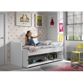 lit combin 7 coloris au choix bureau et rangement jack. Black Bedroom Furniture Sets. Home Design Ideas