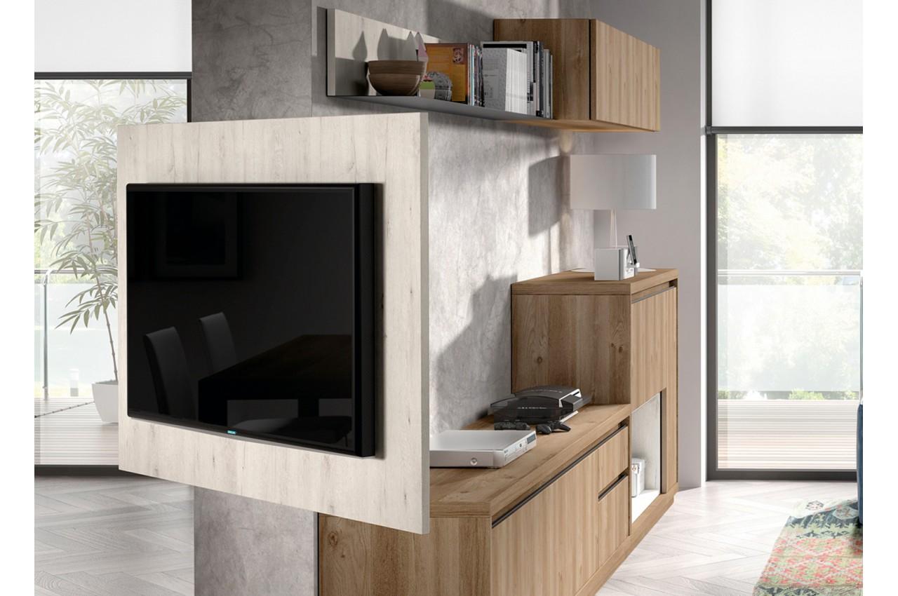 meuble tv panneau tv aden 2920 cbc meubles. Black Bedroom Furniture Sets. Home Design Ideas