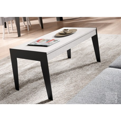 table basse en bois et fer relevable aden 2920 cbc meubles. Black Bedroom Furniture Sets. Home Design Ideas