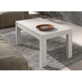 Table basse en bois d'Orme rectangulaire relevable ADEN 2910