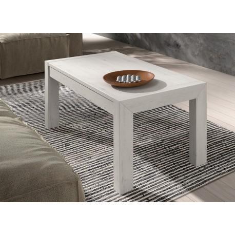 Table basse en bois d'Orme rectangulaire relevable ADEN 2910