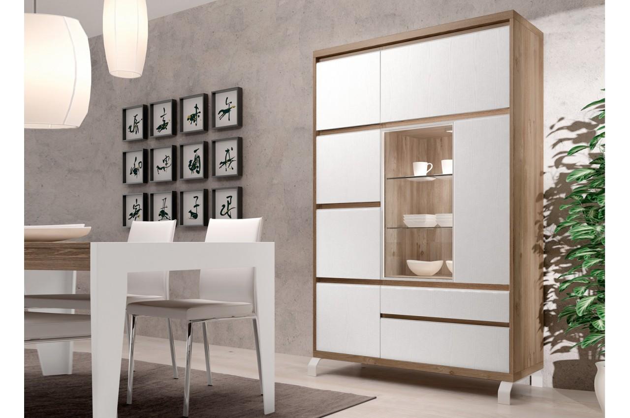 bahut haut contemporain en bois aden 2909 cbc meubles. Black Bedroom Furniture Sets. Home Design Ideas
