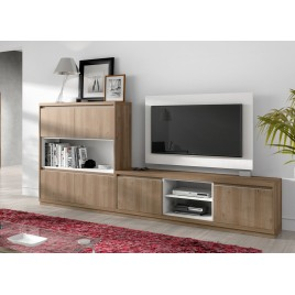 meuble tv design meuble tv mural cbc meubles. Black Bedroom Furniture Sets. Home Design Ideas