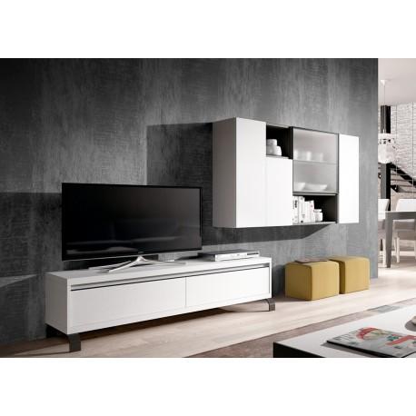 meuble tv bas meuble mural aden 2918