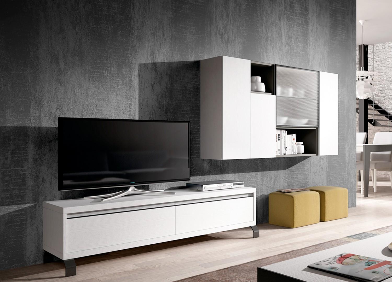 Meuble Tv Design Meuble Tv Bas Pour T L Vision Cbc Meubles # Meuble Tv Pour Barre De Son