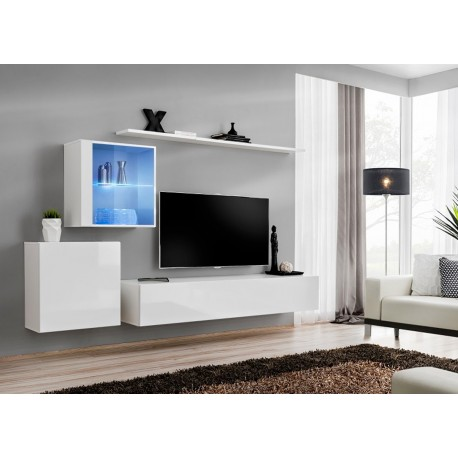ensemble meuble tv design costa 15 cbc meubles. Black Bedroom Furniture Sets. Home Design Ideas