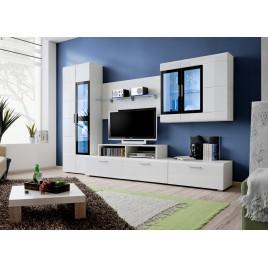 meuble tv design - meuble tv mural - cbc-meubles - Composition Meuble Tv Design
