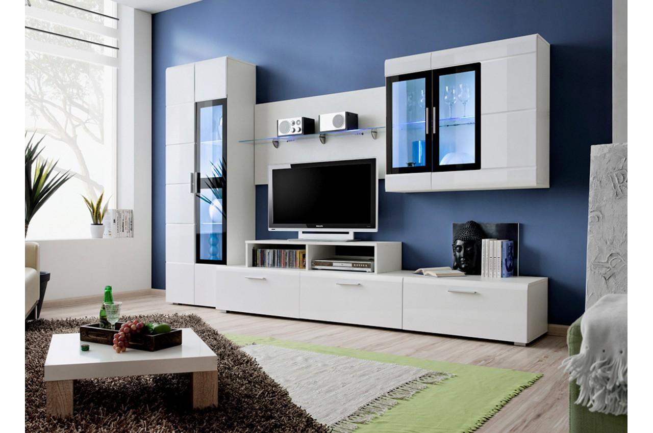 meuble tv design led elfy 2 cbc meubles. Black Bedroom Furniture Sets. Home Design Ideas