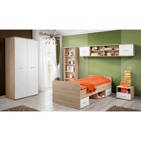 Chambre Enfant Chêne - Blanc DARO 1