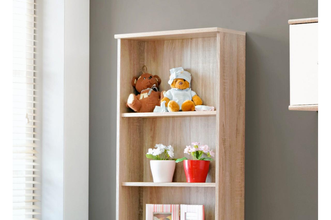 Chambre enfant ch ne blanc daro 1 cbc meubles for Meuble de chambre complet