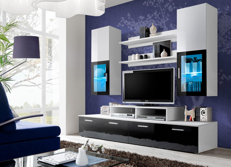 Meuble Tv Design Meuble Tv Bas Pour T L Vision Cbc Meubles # Meuble Tv Mural Noir