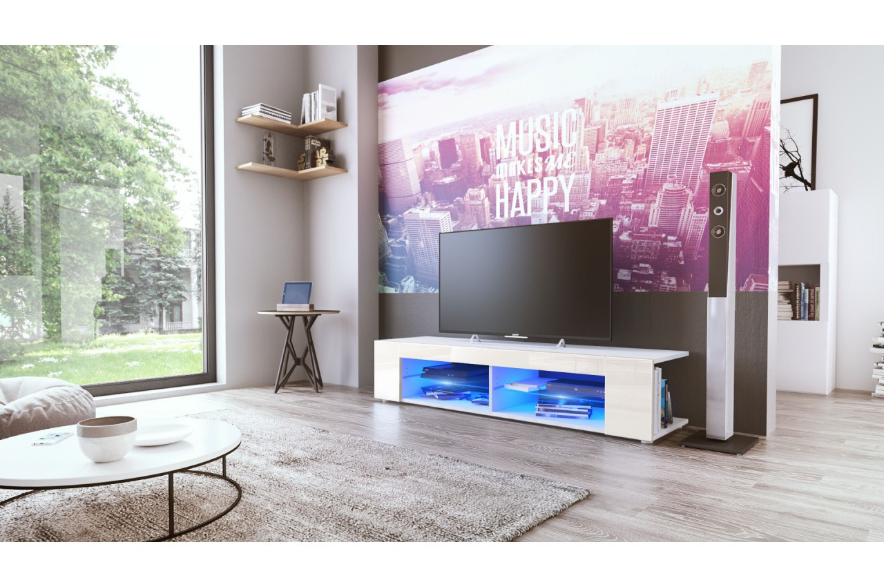 meuble hifi design mila cbc meubles. Black Bedroom Furniture Sets. Home Design Ideas