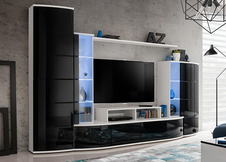 Meuble Tv Design Meuble Tv Bas Pour T L Vision Cbc Meubles # Meuble Hifi En Verre Rehauusseur