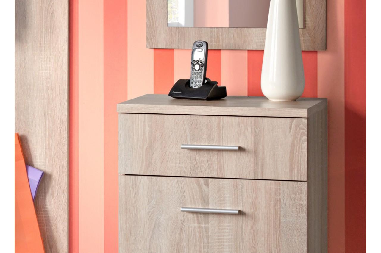 Meuble d entree pas cher maison design for Petit meuble couloir