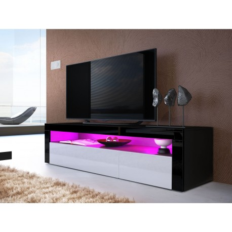 Meuble t l bas design dylan cbc meubles for Meuble bas tele