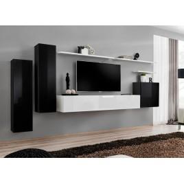 meuble tv design meuble tv mural cbc meubles. Black Bedroom Furniture Sets. Home Design Ideas