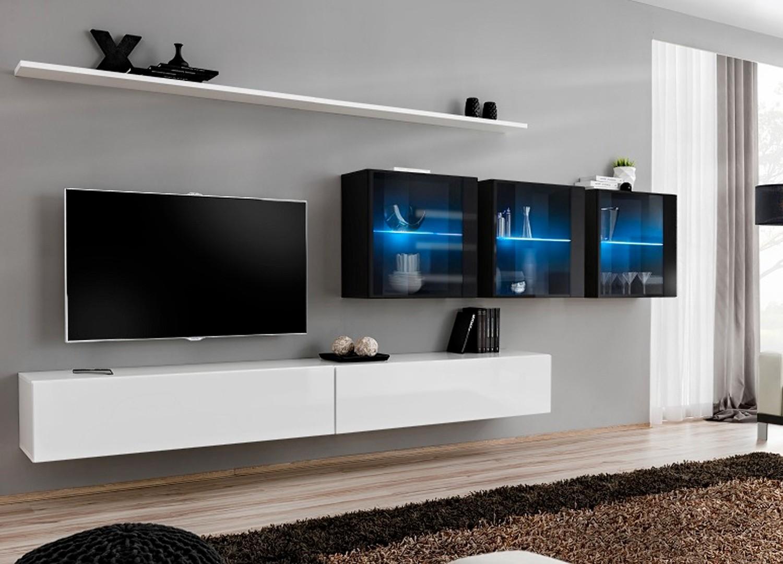 meuble tv moderne suspendu costa 17