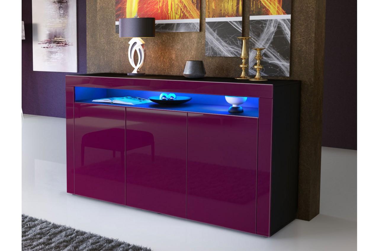 meuble buffet de s jour design dylan cbc meubles. Black Bedroom Furniture Sets. Home Design Ideas