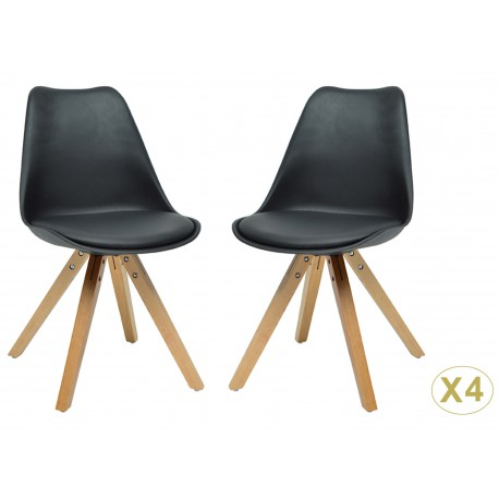 chaises de s jour moderne loa cbc meubles. Black Bedroom Furniture Sets. Home Design Ideas
