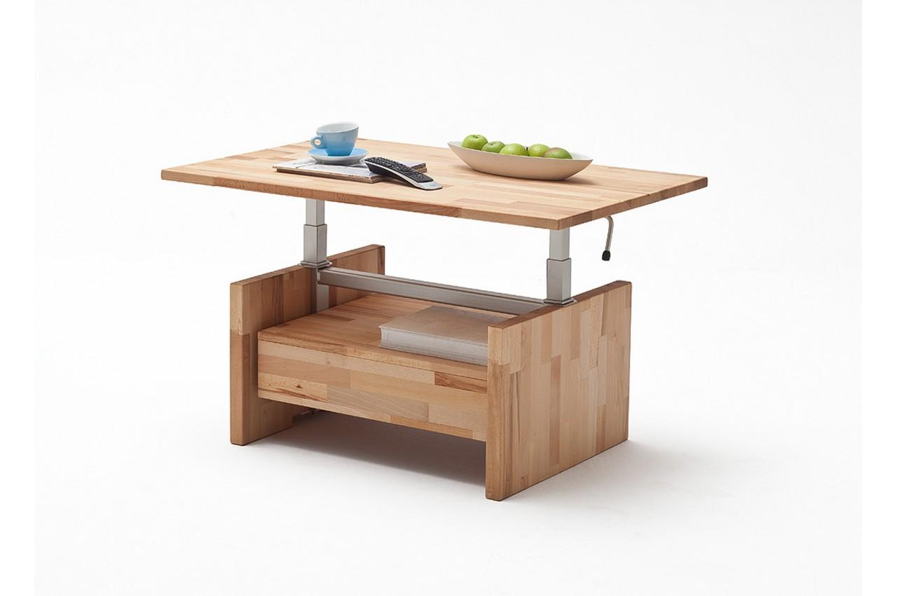 table basse relevable en bois massif cbc meubles. Black Bedroom Furniture Sets. Home Design Ideas