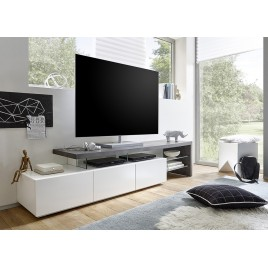 meuble tv design meuble tv bas pour t l vision cbc meubles. Black Bedroom Furniture Sets. Home Design Ideas