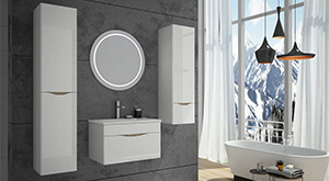 Ensemble de meubles de salle de bain moderne