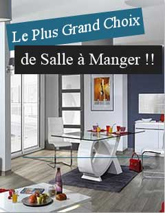 Meuble design moderne contemporain cbc meubles for Living salle a manger