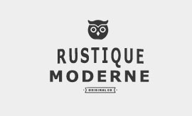 Mobilier style rustique moderne