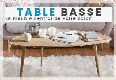 Choisissez avec soin votre table basse
