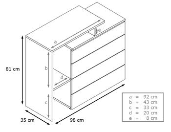 Commode design