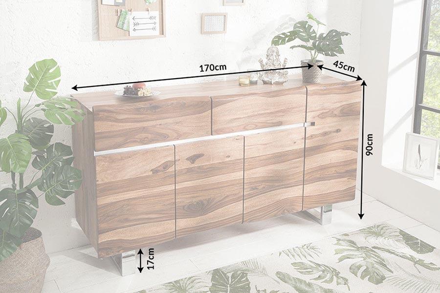 Buffet bois massif design
