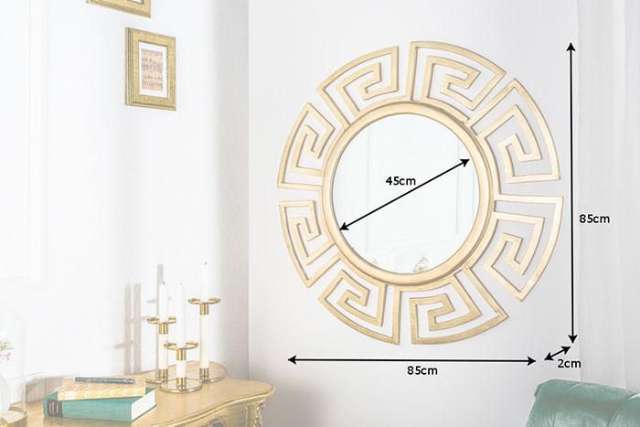 Dimensions du miroir