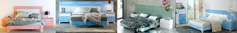 Autres couleurs du lit contemporain