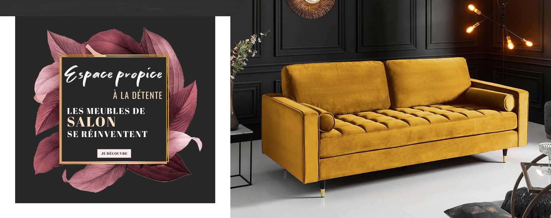 Découvrez nos meubles de salon